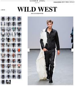 Xander Zhou %22Wild West%22 Autumn:Winter 2015